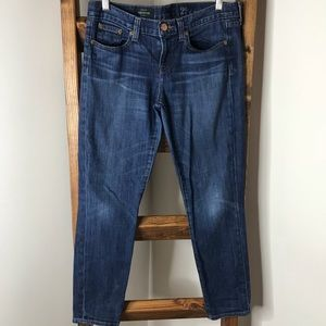 J.Crew Toothpick Ankle Jeans • Size 29